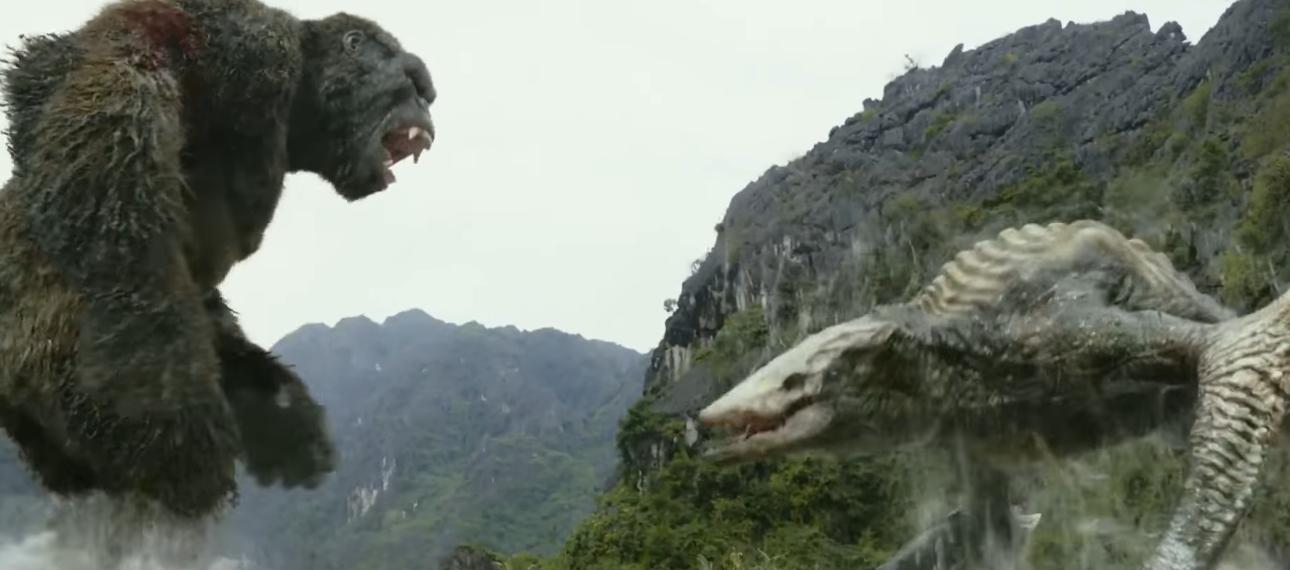 It's monster mayhem in this Kong: Skull Island clip.