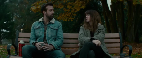 """Check out this lighthearted chat on a """"Bench"""" in the new Colossal clip"""