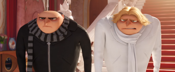 No…you're not seeing double in the new Despicable Me 3 trailer.