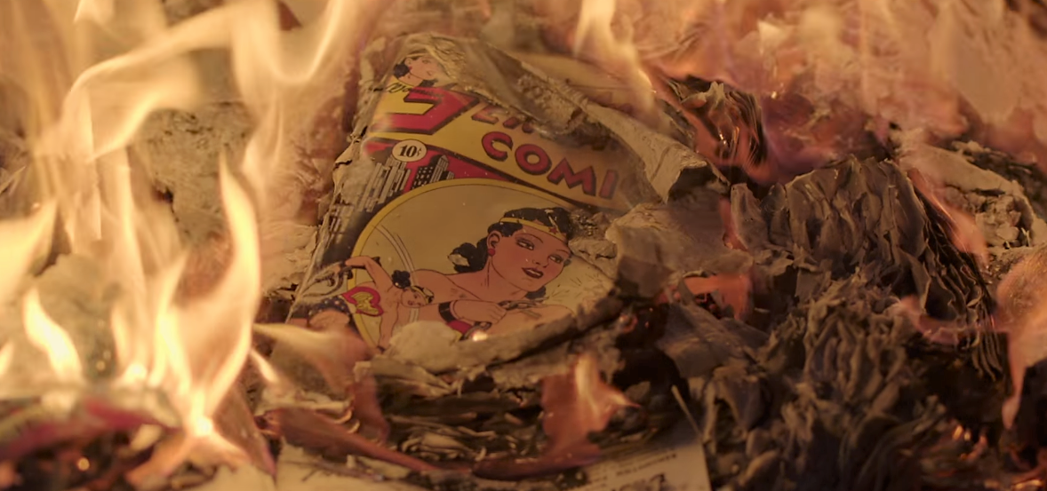 Discover how a legend was born in Professor Marston & the Wonder Women.