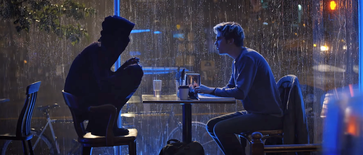 Light and L meet in this new Death Note clip.