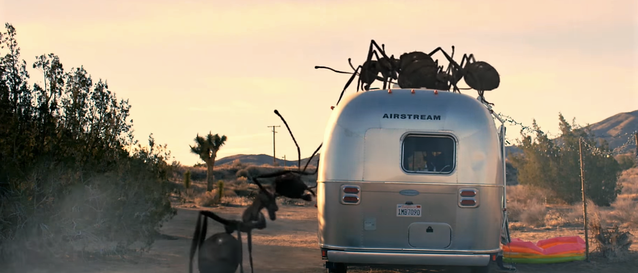 The Dead Ant trailer is serious creature feature comedic heavy metal mayhem!