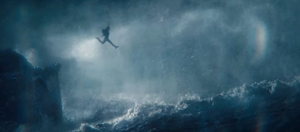 Lara Croft is saving humanity in the first full Tomb Raider trailer.