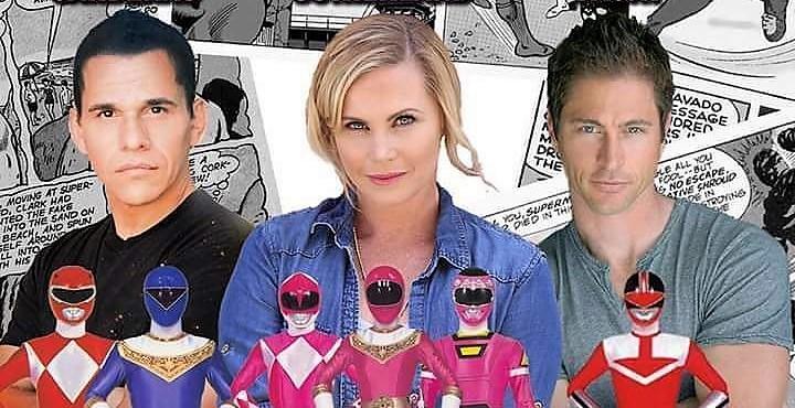 RenCon 2017: Go Go Power Rangers with Catherine Sutherland, Jason Faunt, & Steven Cardenas