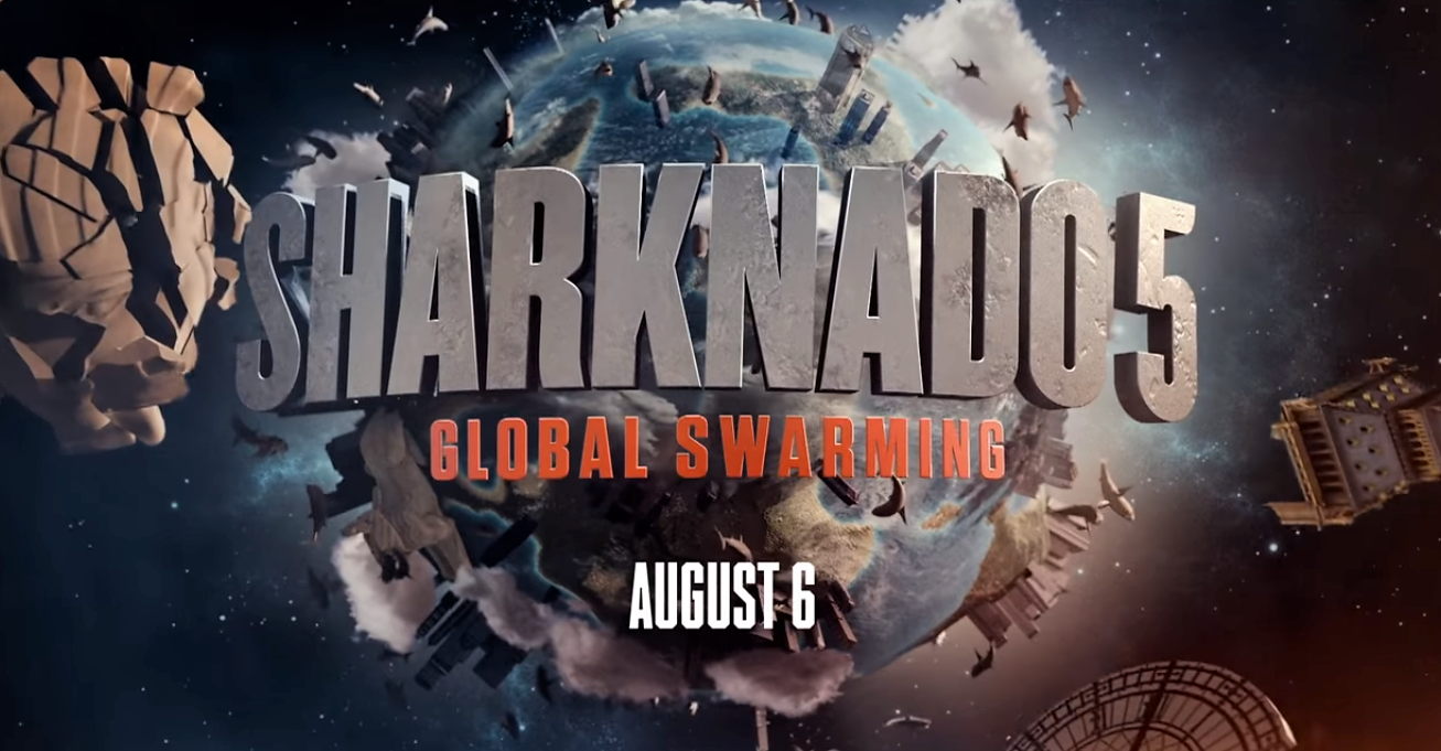 The first teaser for Syfy's Sharknado 5: Global Swarming has arrived!